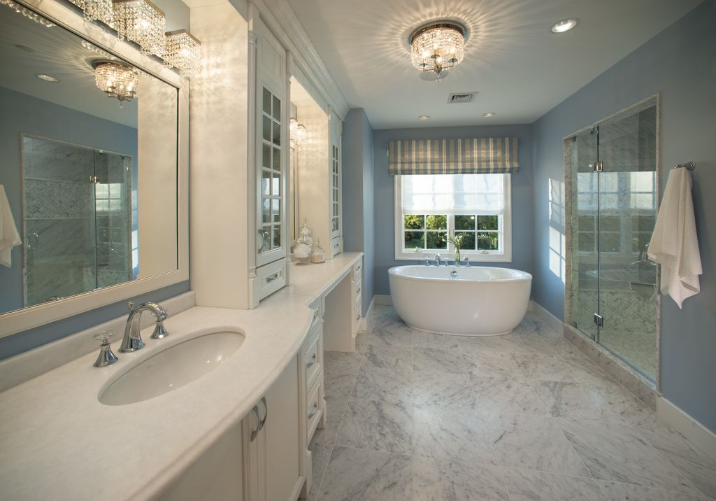 Marble Bathroom Ideas To Create A Luxurious Scheme: Colonial Marble & Granite