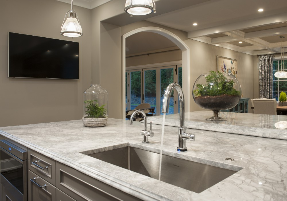 White Fantasy Quartzite Colonial Marble Granite