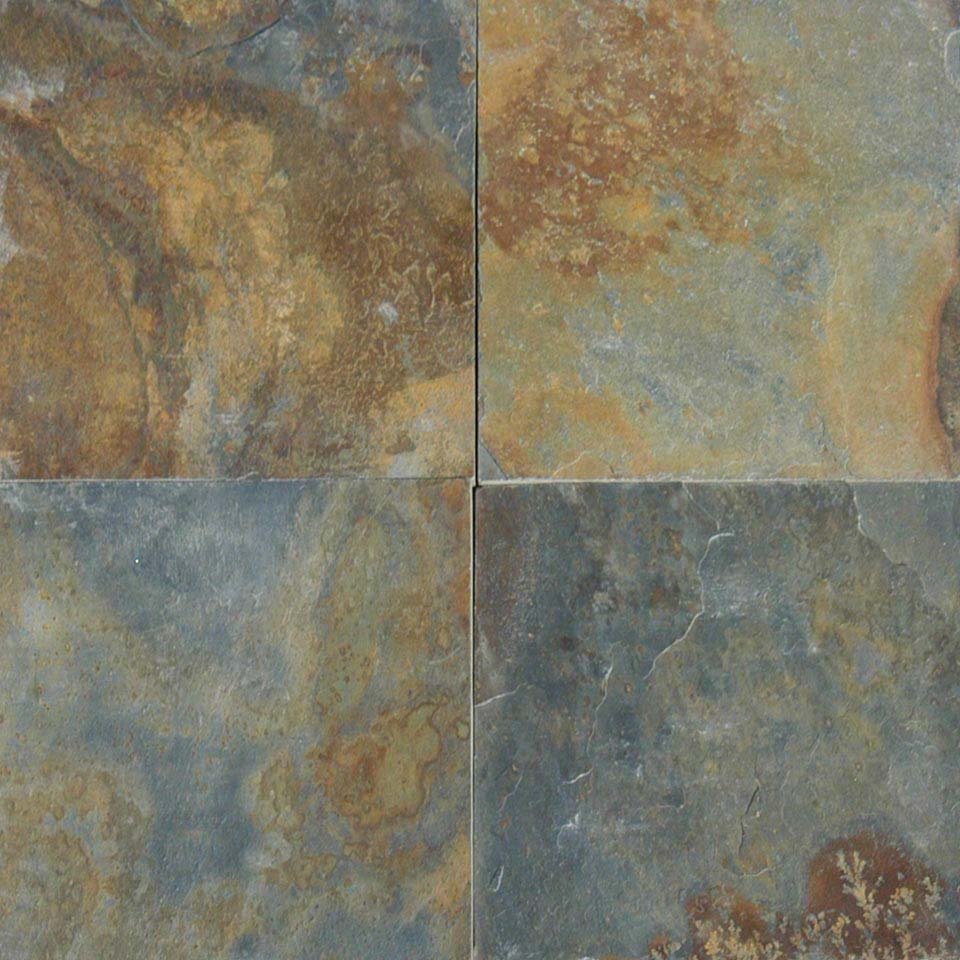 Natural Slate Tile : China multi color colonial marble granite