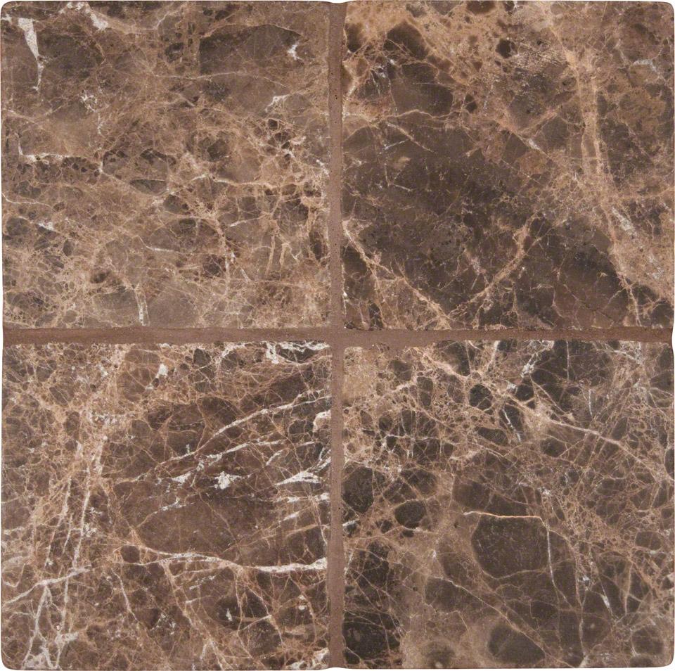 Dark Emperador Granite : Emperador dark tumbled tile colonial marble granite