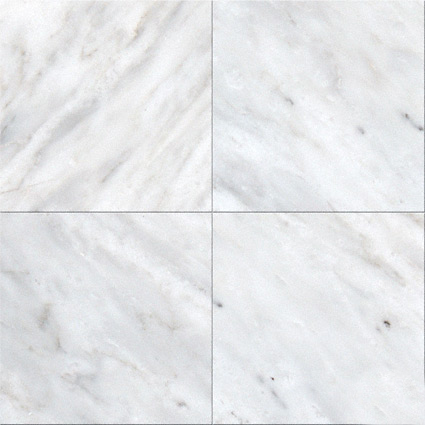 Greecian White 6x6 Polished And Beveled Tile