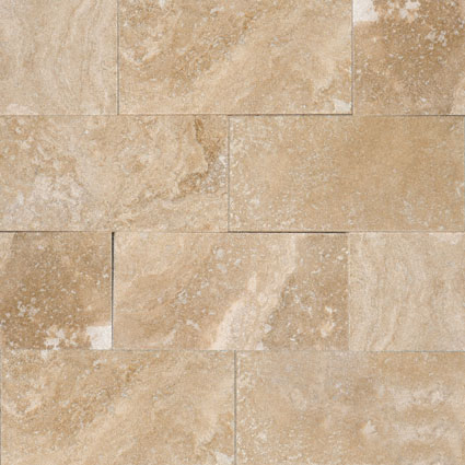 Ivory Travertine 3x6 Honed And Beveled Tile Colonial