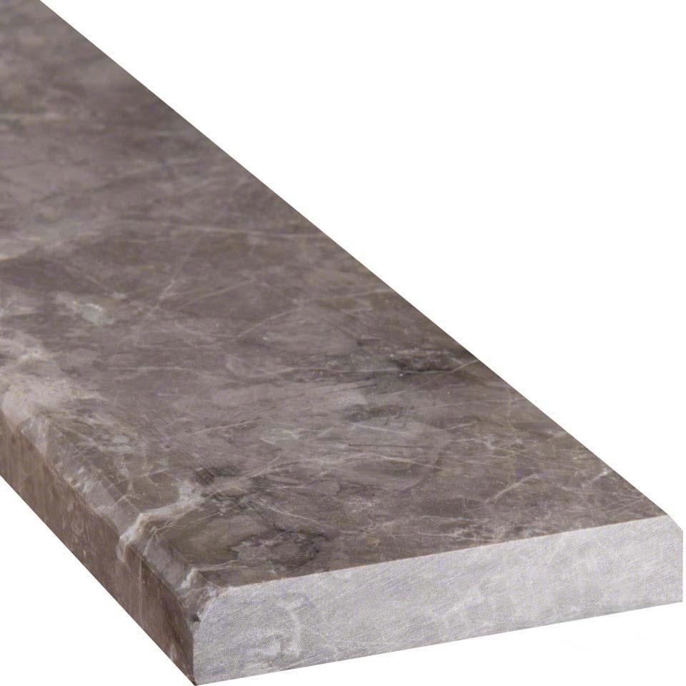 Tundra Gray 4x36 Double Beveled Threshold Polished