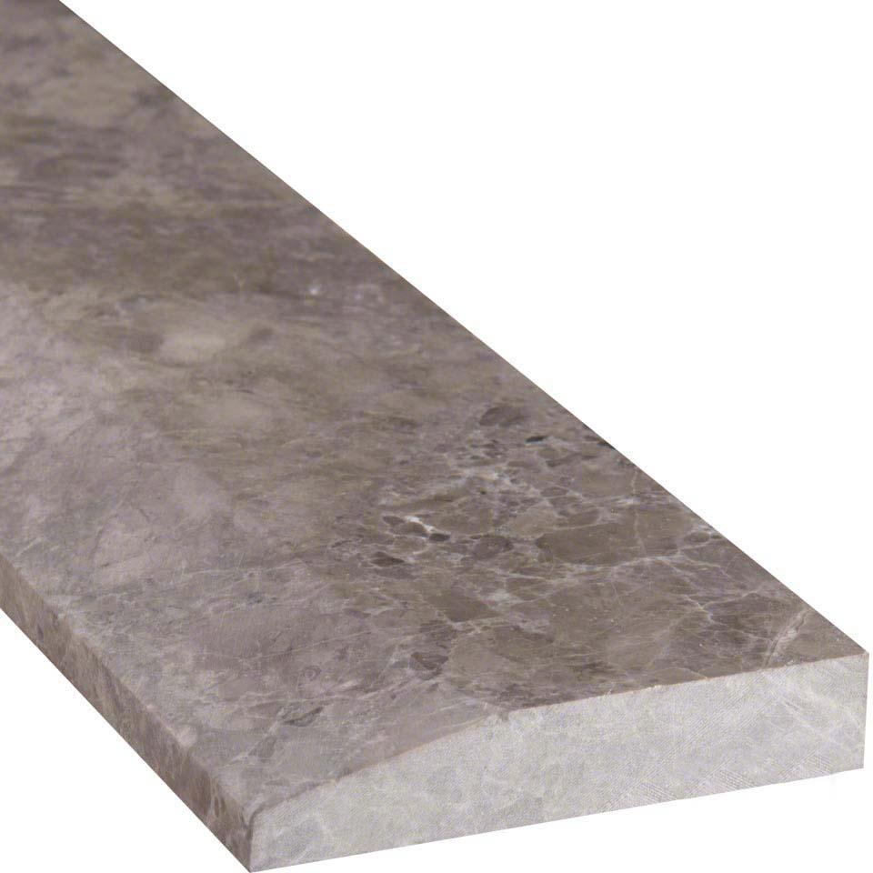 Tundra Gray 4 215 36 Single Hollywood Threshold Polished