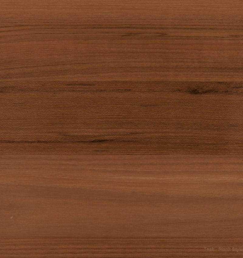 Teak Plank Countertop