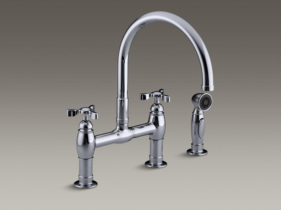 Kohler Faucets Kitchen : Kohler Faucet -Kitchen Colonial Marble & Granite