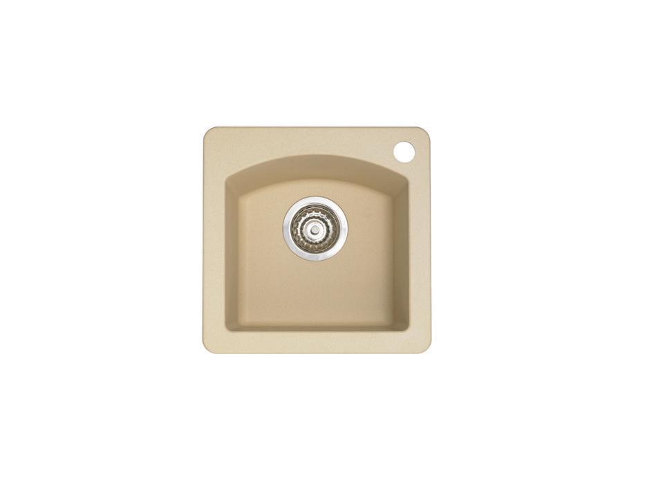 Blanco Bar Sink : Home / Blanco Sinks / Diamond Bar Sink Silgranit II -Biscotti