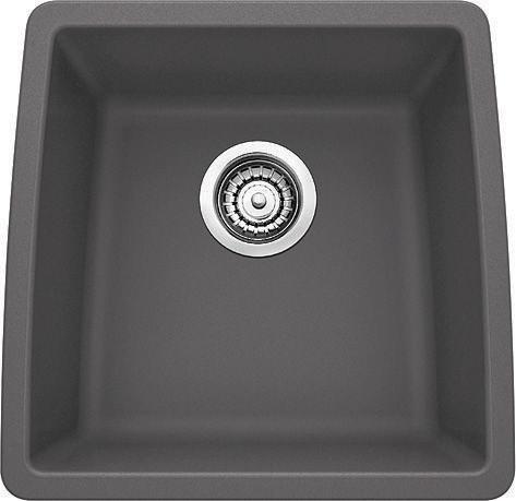 Cinder Blanco Sink : cinder home blanco sinks performa silgranit ii bar bowl cinder