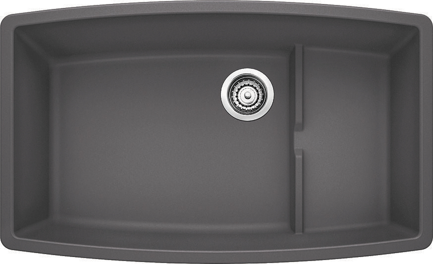 cascade cinder home blanco sinks performa silgranit ii cascade cinder