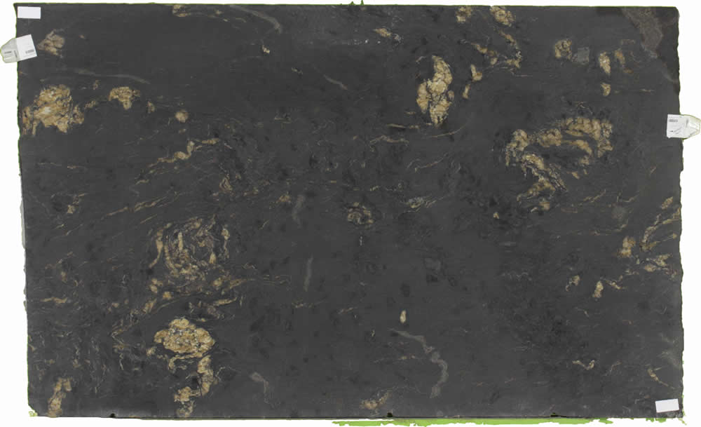 Titanium Black Leather | Colonial Marble & Granite