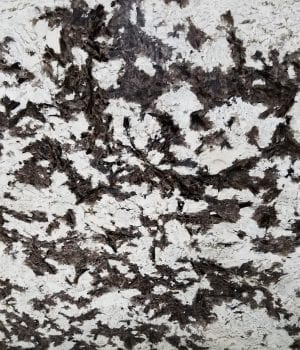 royal white granite - close