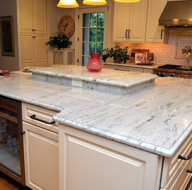 River White Granite Bathroom: Colonial Marble & Granite