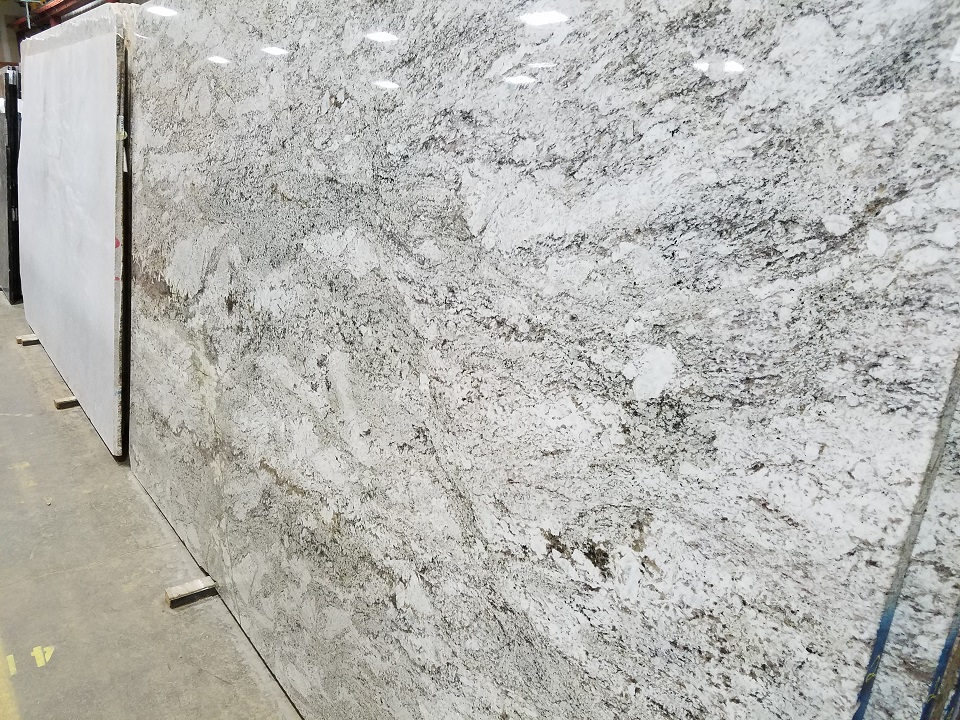 White Granite Stone : Taupe white granite colonial marble