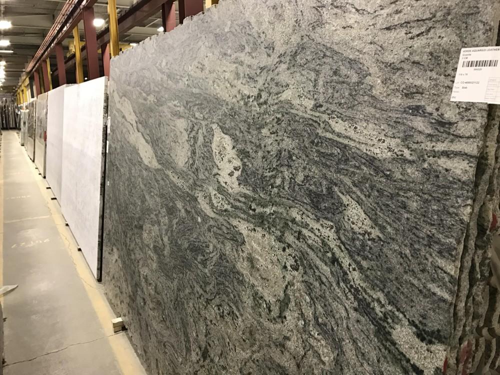 Verde Aquarius Leather Granite Colonial Marble Amp Granite