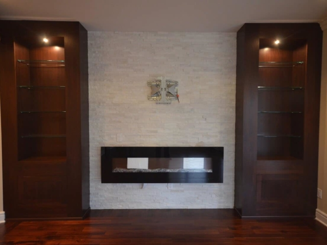 Material - Belvedere Granite 3CM / Mitered Wrap