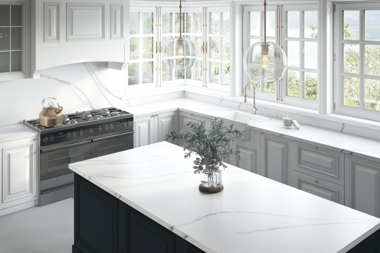 Faux Marble Trade Offs To Consider When Choosing Countertops Colonial Marble Granite