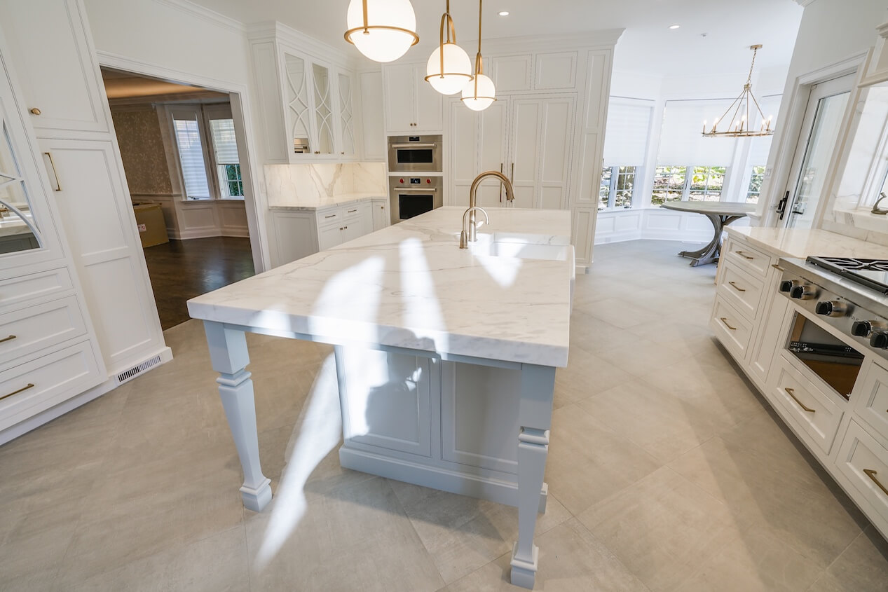 Mansion Kitchens How To Spend 1 Million Without Trying Colonial Marble Granite