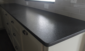 leathered finish countertop