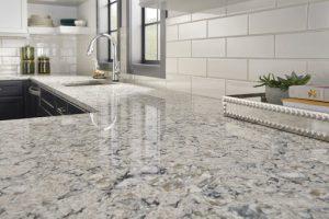 polished edge finish countertop