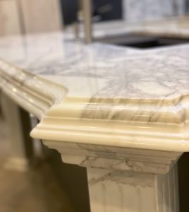 custom edge countertop